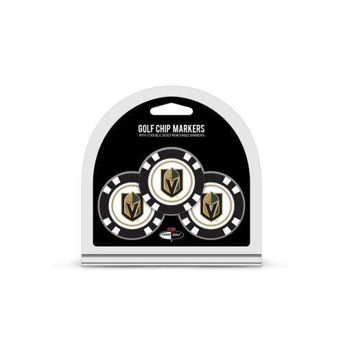 Vegas Golden Knights Golf Chip with Marker 3 Pack - Special Order