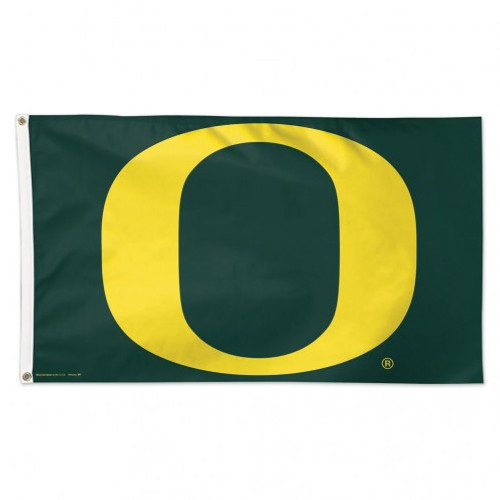 Oregon Ducks Flag 3x5 Green - Special Order