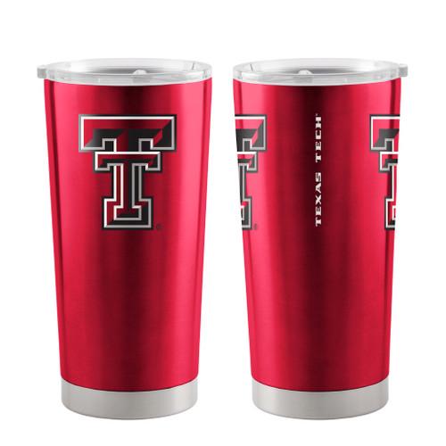 Texas Tech Red Raiders Travel Tumbler 20oz Ultra Red