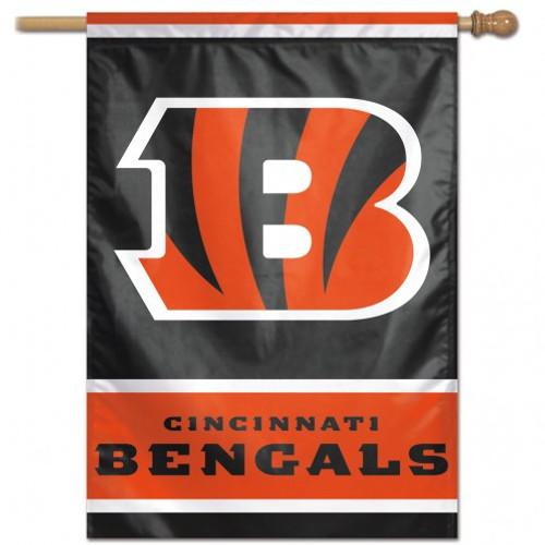 Cincinnati Bengals Banner 28x40 Vertical