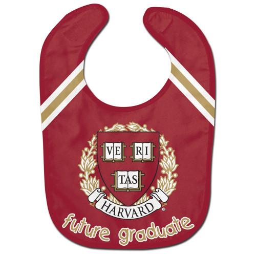 Harvard Crimson Baby Bib All Pro