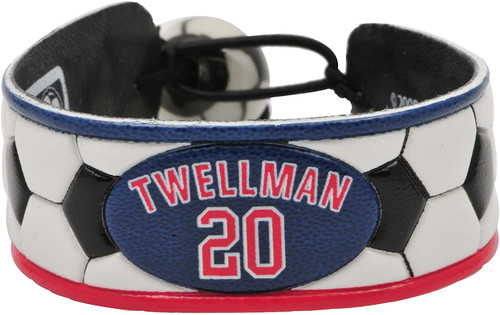 New England Revolution Bracelet Classic Soccer Taylor Twellman CO
