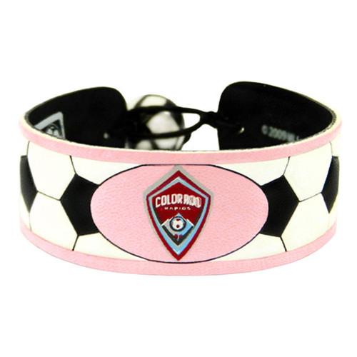 Colorado Rapids Bracelet Soccer Pink CO
