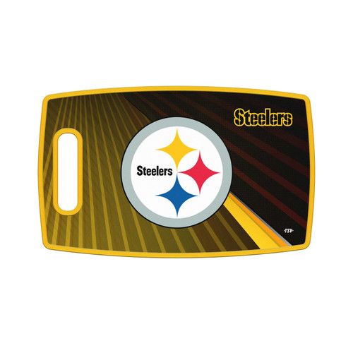 Pittsburgh Steelers Cutting Board Large