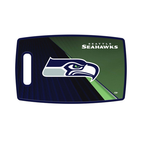 Seattle Seahawks Cutting Board Large