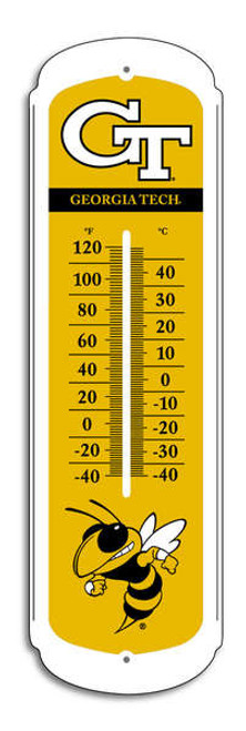 Georgia Tech Yellow Jackets Outdoor Thermometer - 27""