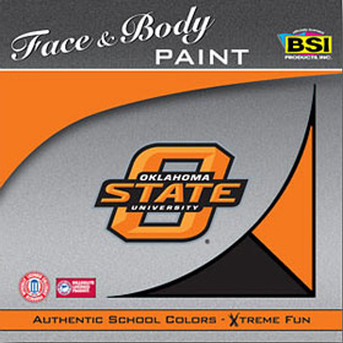 Oklahoma State Cowboys Face Paint