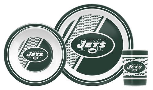 New York Jets 5 Piece Children's Dinner Set