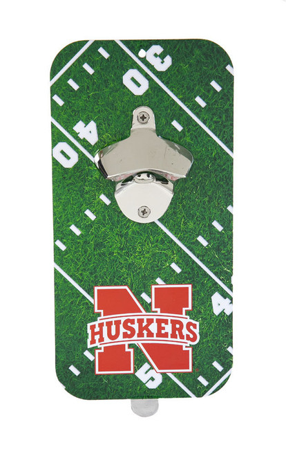 Nebraska Cornhuskers Bottle Opener Magnetic Clink N Drink