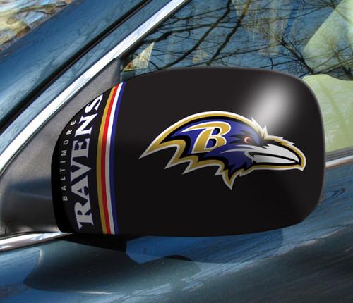 Baltimore Ravens Mirror Cover - Small