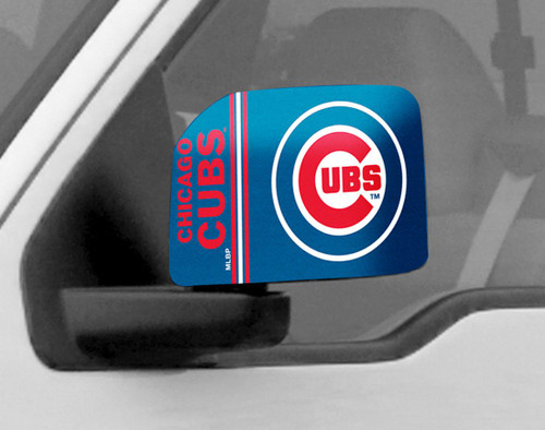 Chicago Cubs Mirror Cover - Large