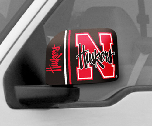 Nebraska Cornhuskers Mirror Cover - Large