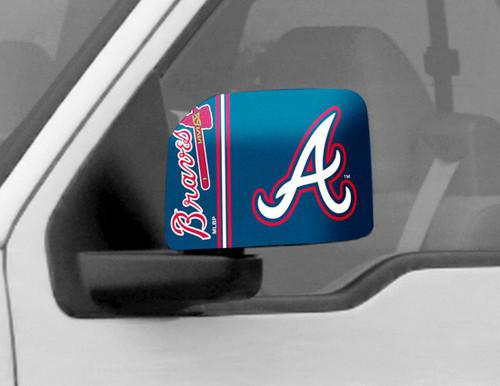 Atlanta Braves Mirror Cover - Large
