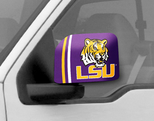 LSU Tigers Mirror Cover - Large