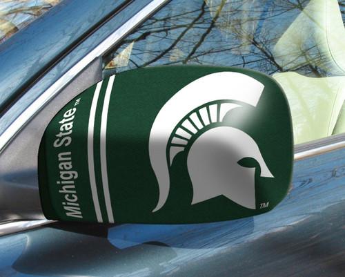Michigan State Spartans Mirror Cover - Small