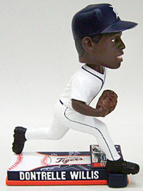 Detroit Tigers Dontrelle Willis Forever Collectibles On Field Bobblehead