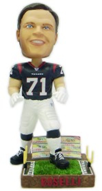 Houston Texans Tony Boselli Forever Collectibles Bobblehead