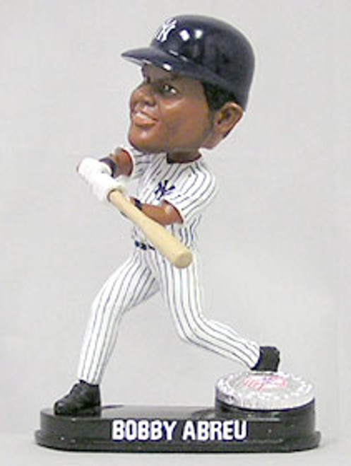 New York Yankees Bobby Abreu Forever Collectibles Blatinum Bobblehead