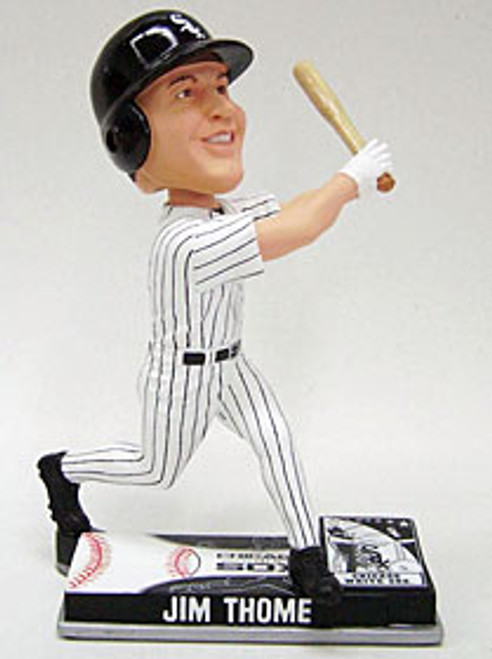 Chicago White Sox Jim Thome Forever Collectibles On Field Bobblehead