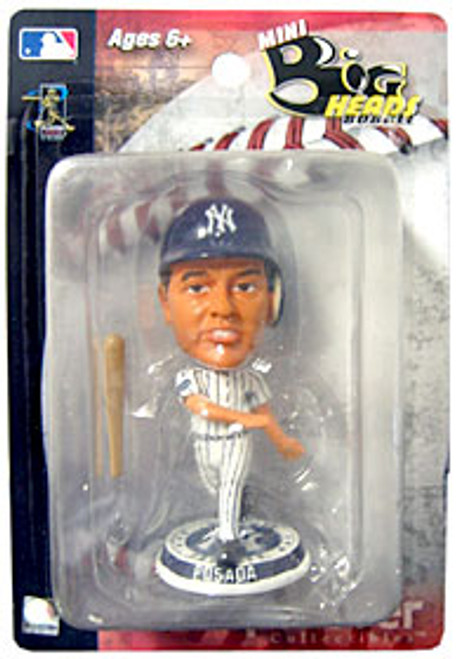 "New York Yankees Jorge Posada 3.5"" Mini Big Head Bobblehead"