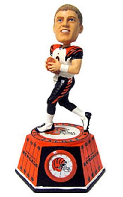 Cincinnati Bengals Carson Palmer Forever Collectibles Bobblehead Clock