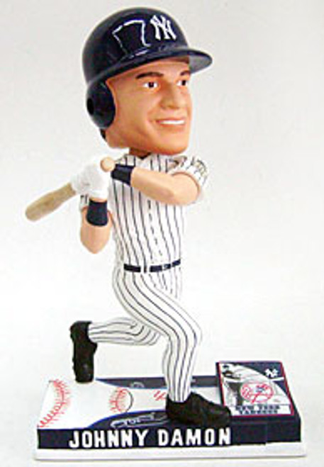New York Yankees Johnny Damon Forever Collectibles On Field Bobblehead