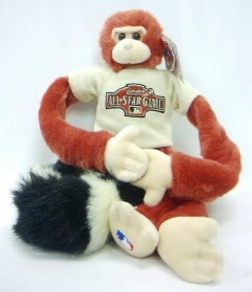 2004 All-Star Game Rally Monkey Plush