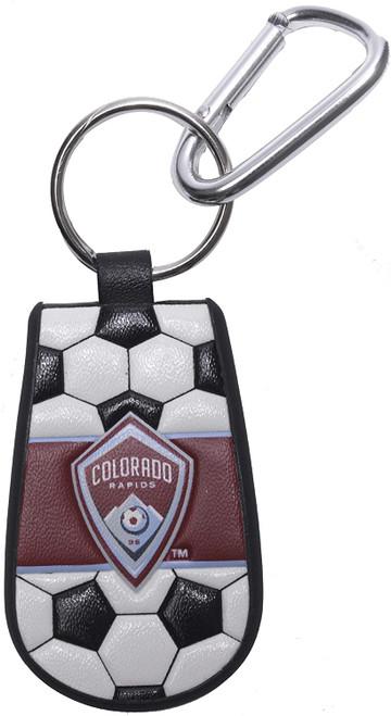 Colorado Rapids Keychain Classic Soccer CO