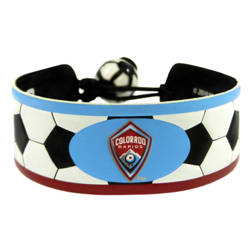 Colorado Rapids Bracelet Classic Soccer Alternate Logo CO