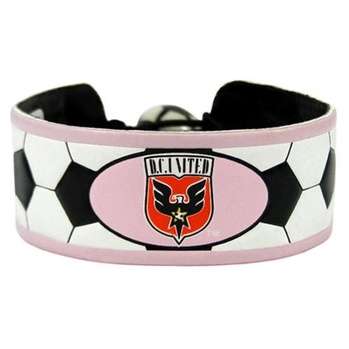 DC United Bracelet Soccer Pink CO