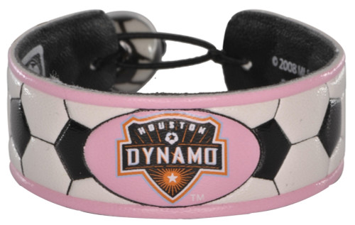 Houston Dynamo Bracelet Soccer Pink CO