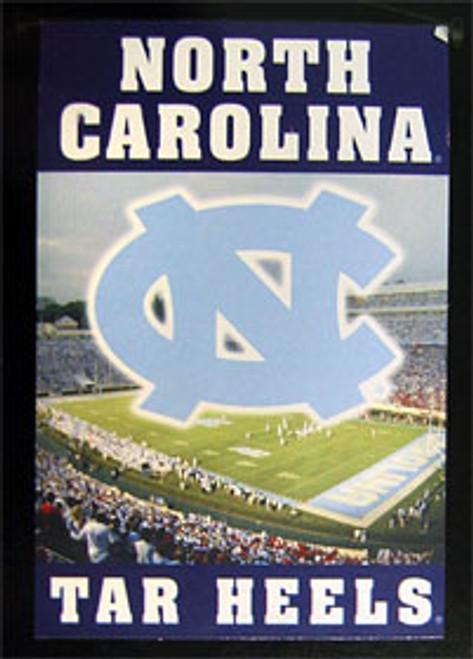 """North Carolina Tar Heels 28""""x41"""" Wall Hanging"""