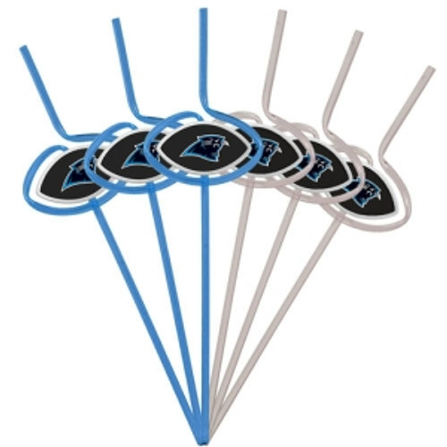Carolina Panthers Team Sipper Straws