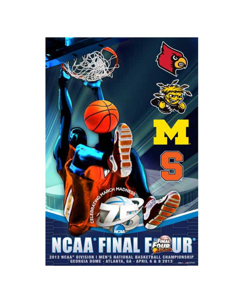 2013 NCAA Final Four Poster