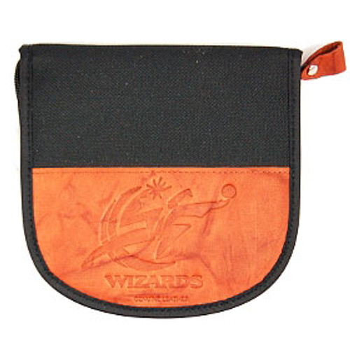 Washington Wizards Leather/Nylon Embossed CD Case