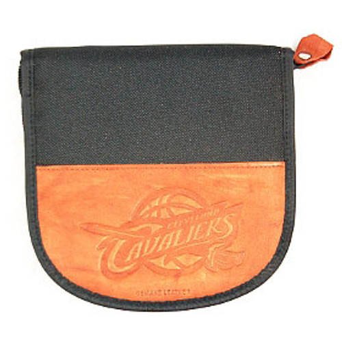 Cleveland Cavaliers CD Case Leather/Nylon Embossed CO
