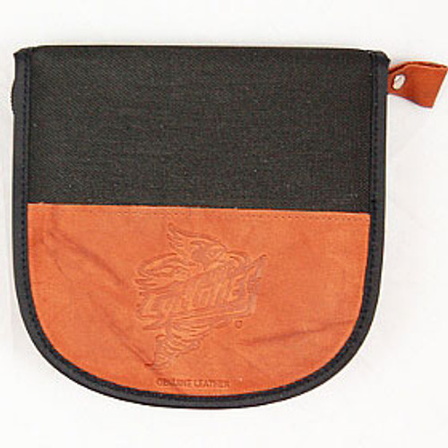 Iowa State Cyclones Leather/Nylon Embossed CD Case