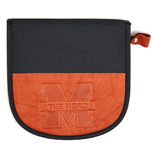 Marshall Thundering Herd Leather/Nylon Embossed CD Case