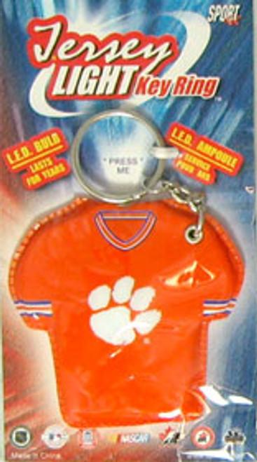 Clemson Tigers Keychain - Jersey Keylight