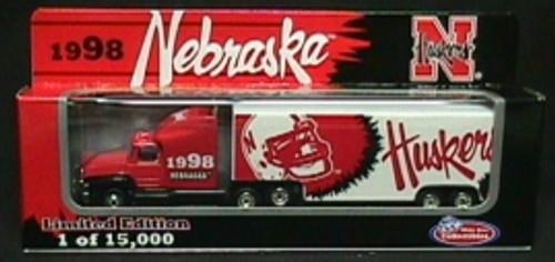 Nebraska Cornhuskers White Rose Tractor Trailer '98