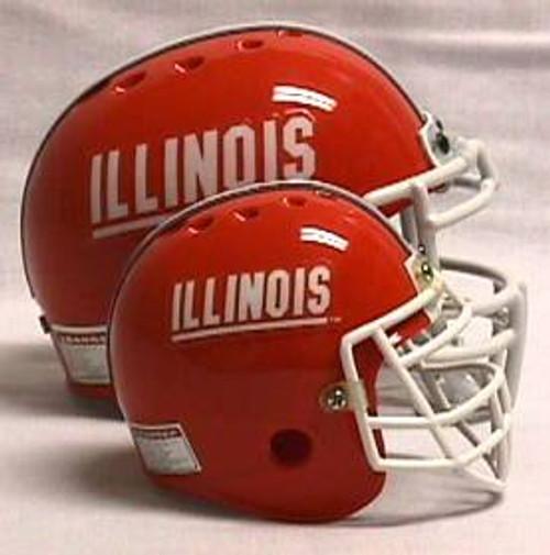Illinois Fighting Illini Micro Helmet
