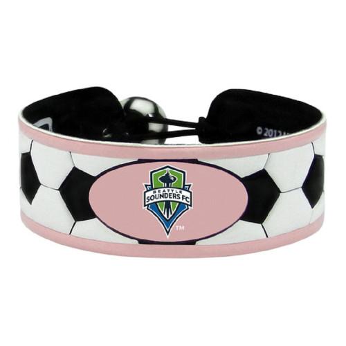 Seattle Sounders Bracelet Soccer Pink