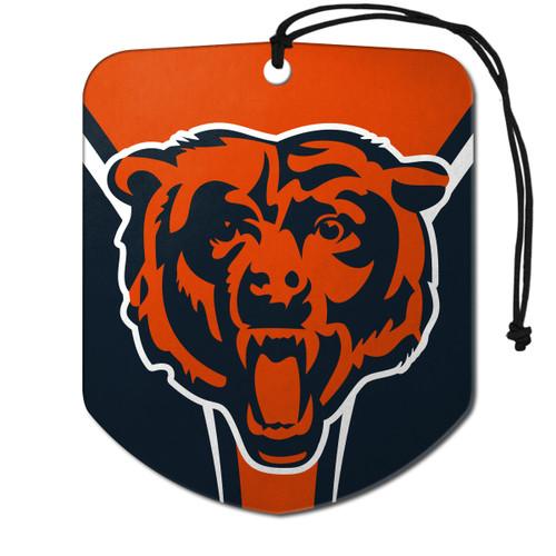 Chicago Bears Air Freshener Shield Design 2 Pack