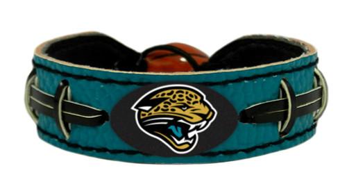 Jacksonville Jaguars Bracelet Team Color Football Alternate