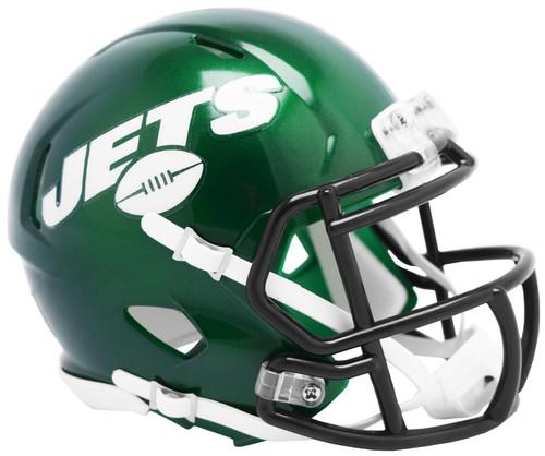New York Jets Helmet Riddell Replica Mini Speed Style 2019