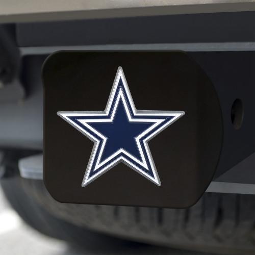 Dallas Cowboys Hitch Cover Color Emblem on Black