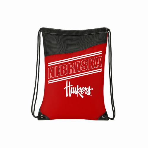 Nebraska Cornhuskers Backsack Incline Style - Special Order
