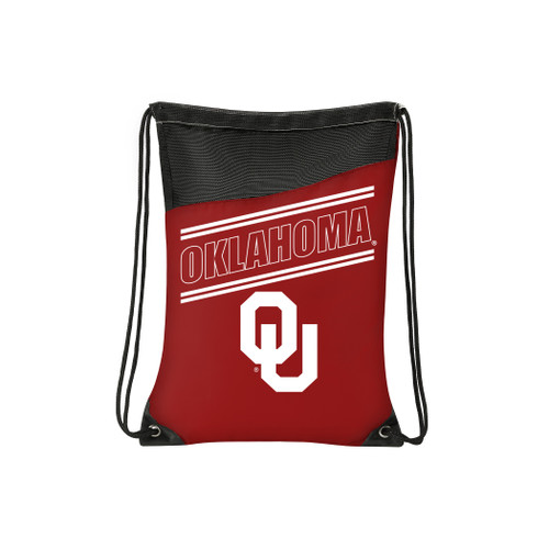 Oklahoma Sooners Backsack Incline Style - Special Order