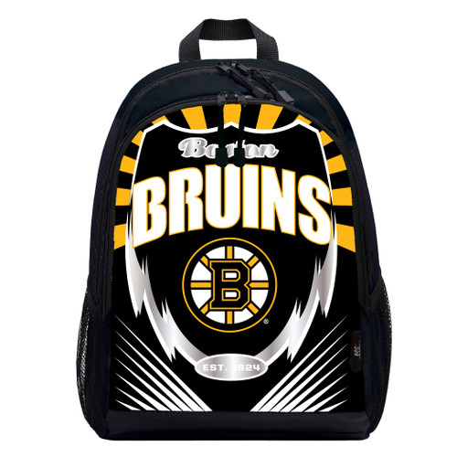 Boston Bruins Backpack Lightning Style - Special Order