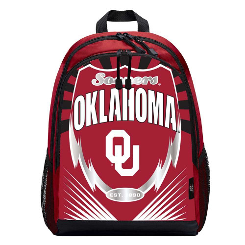 Oklahoma Sooners Backpack Lightning Style - Special Order